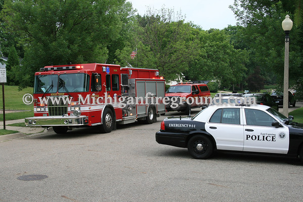 6/18/10 - East Lansing house fire, 980 Longfellow Dr