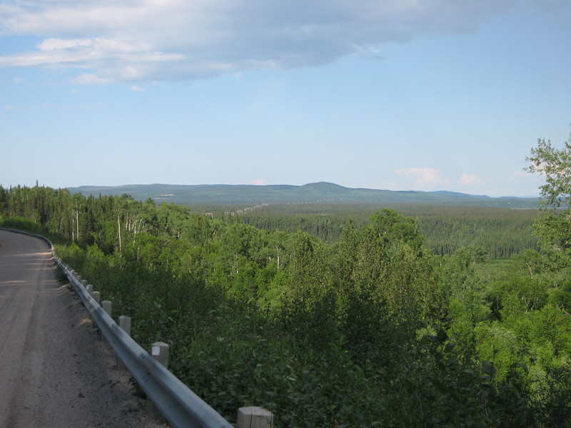 Overlooking Churchill river valley