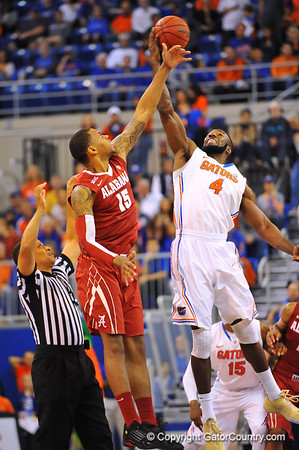 Gators vs Alabama Mens Basketball Quick Gallery  2-8-14