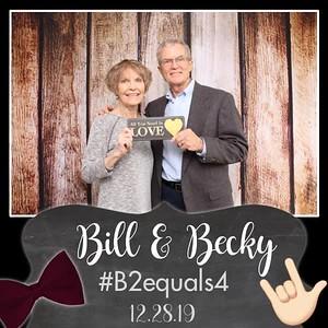 Bill & Becky #B2Equals4