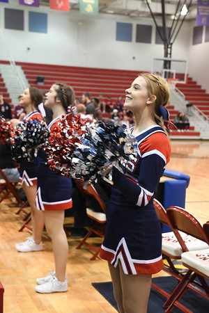 Cheer at Columbus Basketball