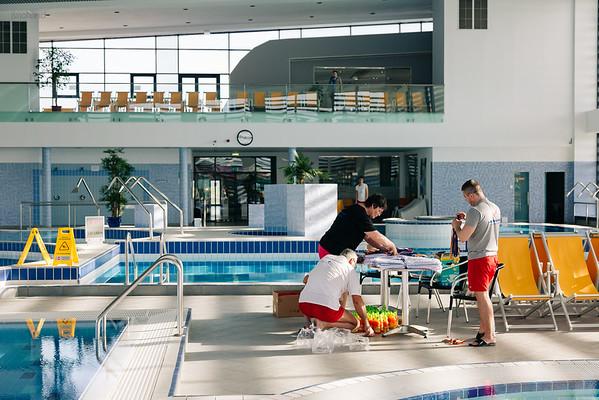 Concurs demonstrativ de înot la ștrandul Aquastar