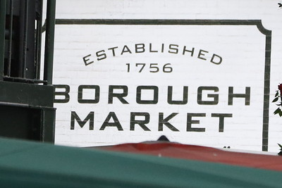 Borough Market and environs - 21 April 2018