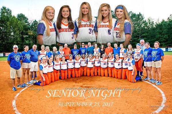 Senior Night 25 Sept 2017