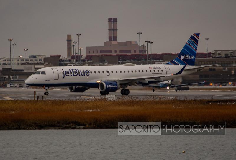 "Embraer E190 ""BYO Blue"""