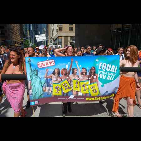GoTopless Pride Parade NYC