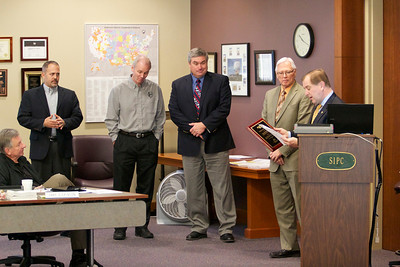 Board Meeting SIPC 12-14-12