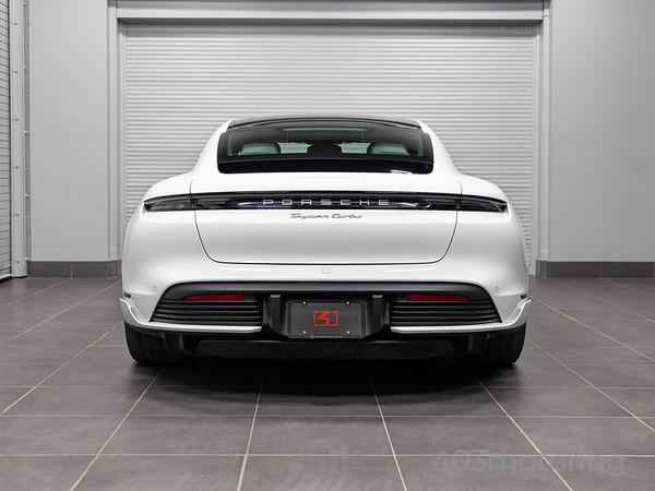 '20 Taycan Turbo - White