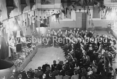 ARP Party at Town Hall, Oct 13th 1945