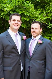 P+J Wedding - Groom and Guys