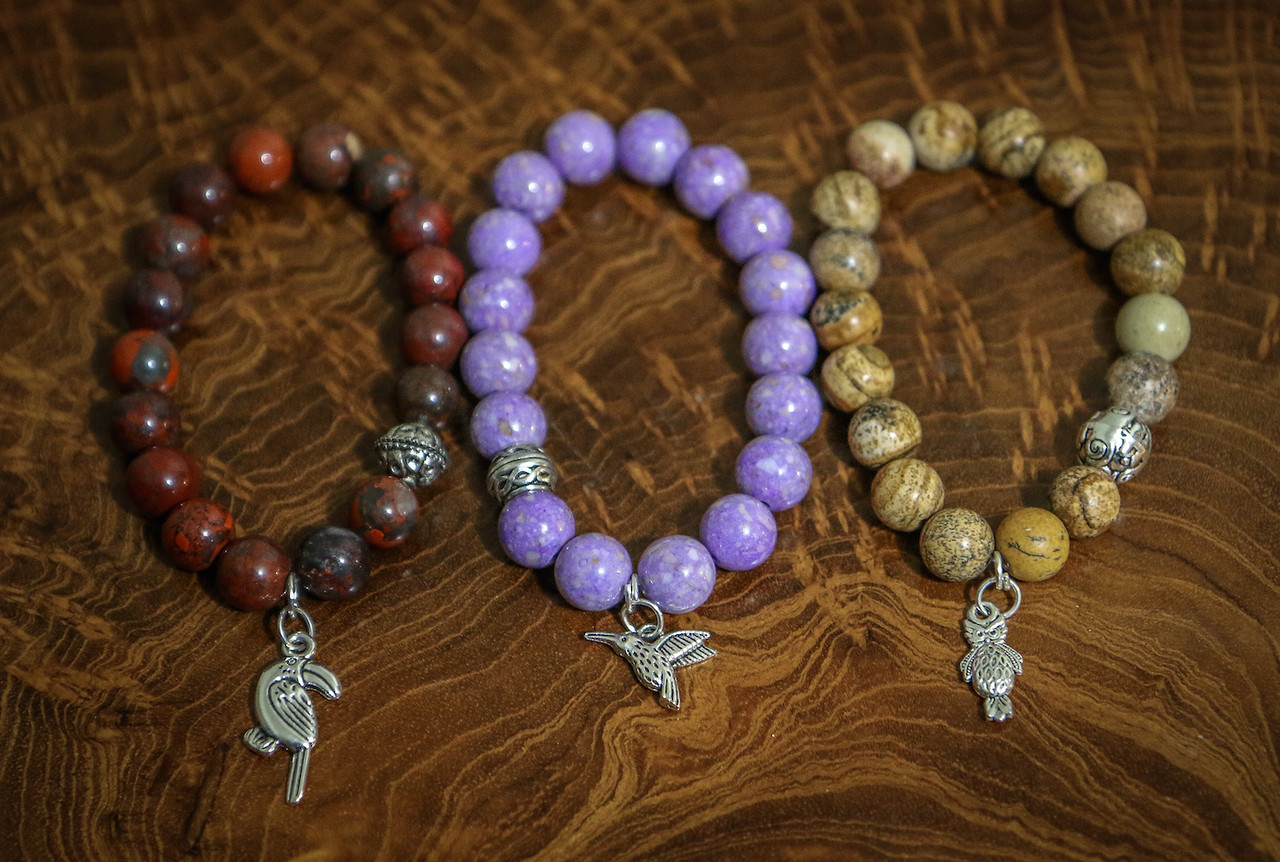 Purchase Green Global Travel handcrafted bracelets individually or save money by buying a set.