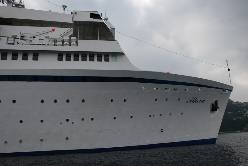 M/S ATHENA : the bow.