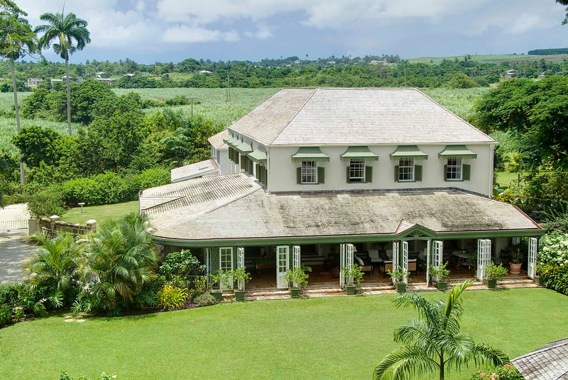 Plantation house in Barbados photographed by Barbados Photography