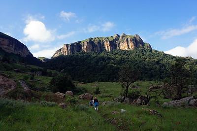 THE Drakensbergs