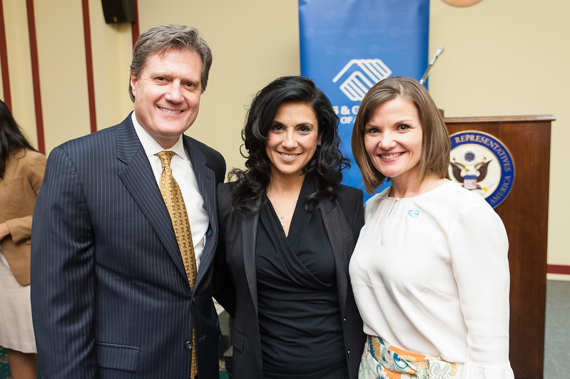 Representative Mike Turner, Majida Turner, Julie Teer.jpg