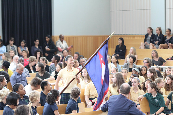 Flag Ceremony and Mass 2018