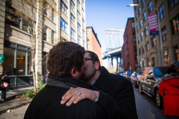 Michael Dumbo Proposal, New York.