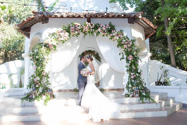 2016_10_1 Jenae & Greg At Rancho Las Lomas