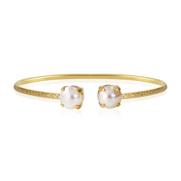 Classic Petite Bracelet / Pearl Gold