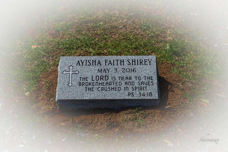 Ayisah's Headstone