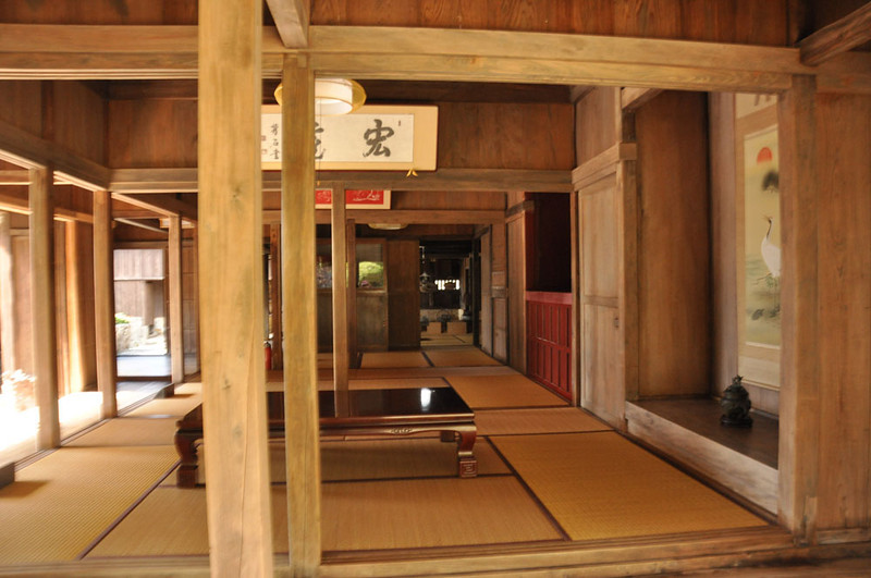 Nakamura old house  Dates from the 19th century