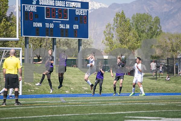JD vs Desert Hills Boys 3A State Soccer