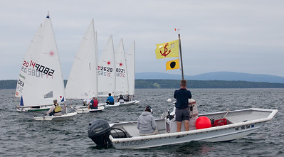 July Laser Sailing