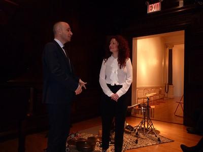 Mar 11 Tue ICI - Jazz Pianist CETTINA DONATO and Percussionist MARCELLO PELLITTERI at ICI