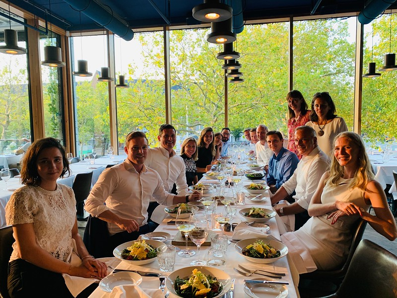 Dinner with the Dutch surgical and marketing team.jpg