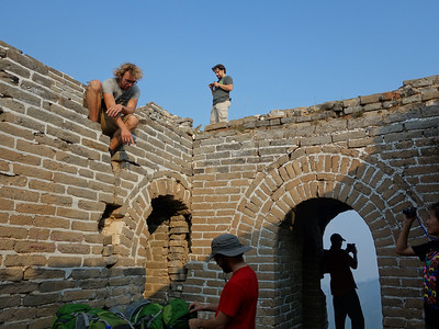 Chen Castle Great wall hiking camping 【August】