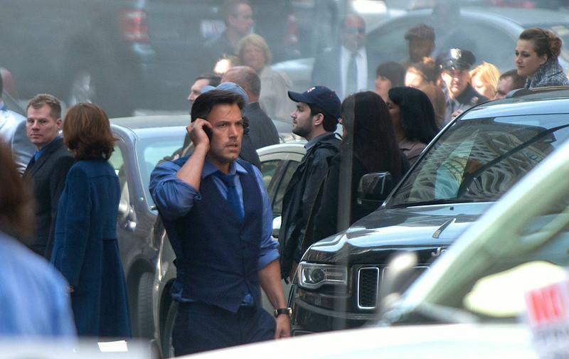 Ben Affleck Films Batman V Superman in Detroit