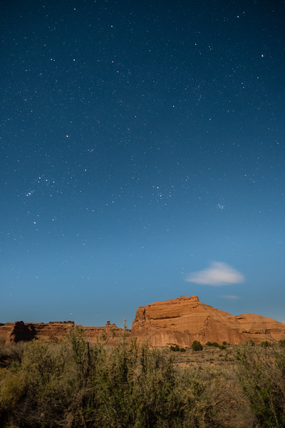 Starry Night - Arches National Park
