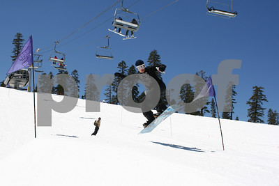 4/6/09 Easy Rider Broadway Terrain Park Jumps Photos Jack
