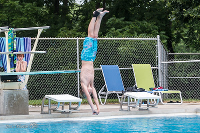 Swim - Dive Meet - July 25, 2014
