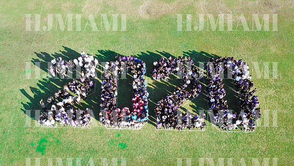 Class of 2020 Panoramic, Drones, & Athletes