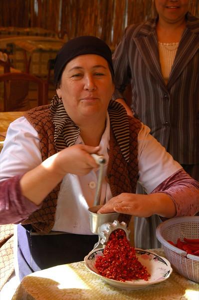 Peppers for Lagman - Osh, Kyrgyzstan