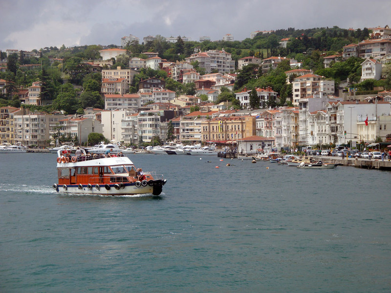 Following the guidance of a Lonely Planet article on how to spend the perfect day in Istanbul, I commenced with a cruise in the Bosphorus Strait which connected the Black Sea to the Mediterranean, dividing the city into European and Asian parts.