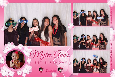 Mylee Ann's 1st Birthday (LED Open Air Photo Booth)