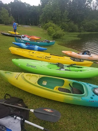 Paddling 101 Oak Mountain 11 May 19