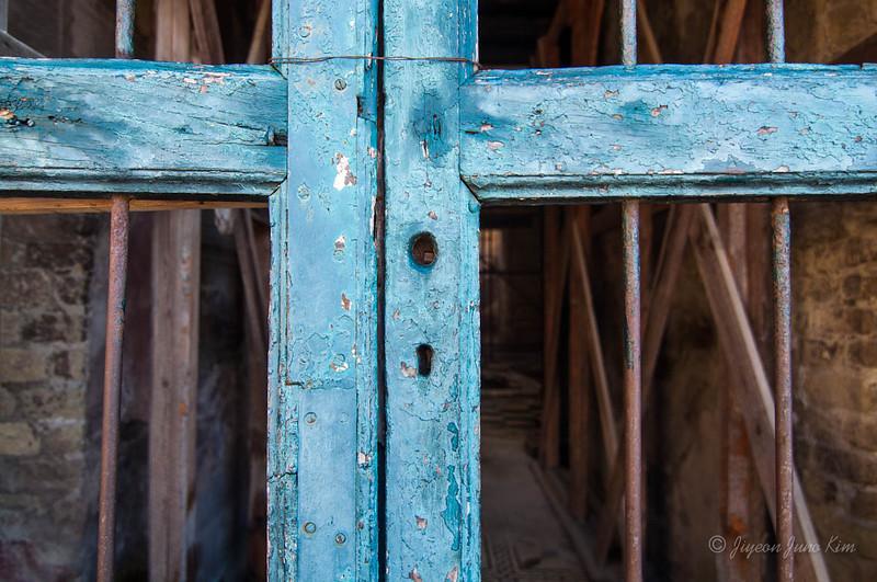 Wooden door at Herculaneum
