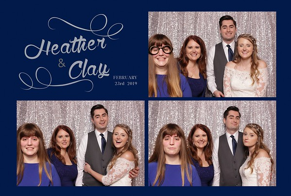 2.23.19 Heather and Clay Photo Booth