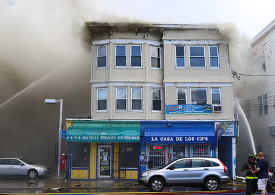 Lawrence, MA 6/22/2019, 268 Lawrence St., 3 Alarms