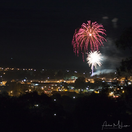 Griffith Centenary Fireworks