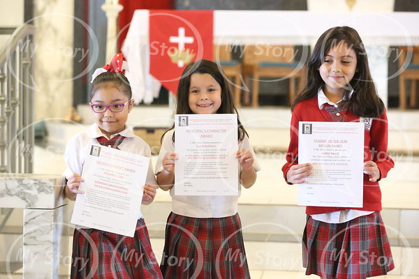 PK Class Awards  (Student of the Year)