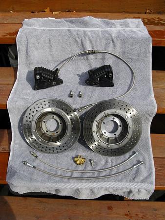 R80 GS Brakes