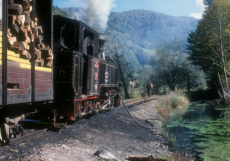 Water stop.  No tanks, when the engines needed water it was pumped from whatever stream or pond was convenient.