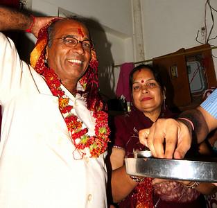 Devi Puja - Eve of Wedding Day