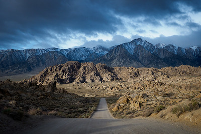 Alabama Hills & Trona Pinnacles, April 2018