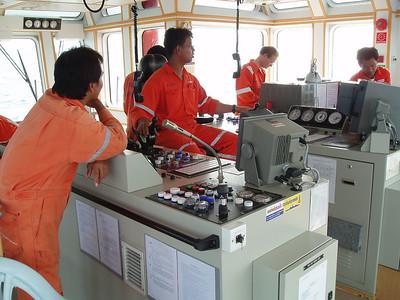 Thailand sub sea hose change