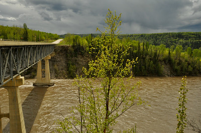 John Hart Highway Prince George to Pine River Crossing